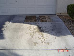 100 removing oil stains from concrete remove oil for Driveway stain remover
